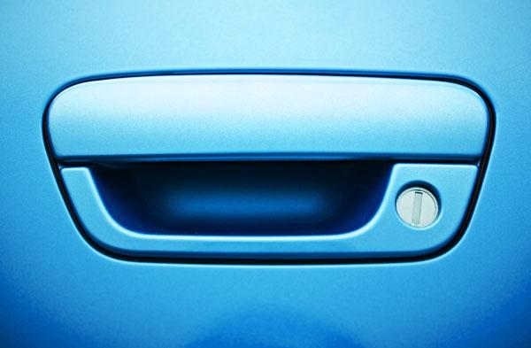 Car key slot
