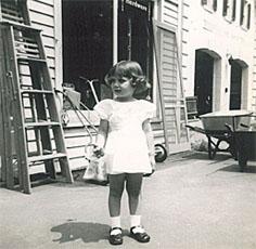1950s B&W photos old Woodstock, NY