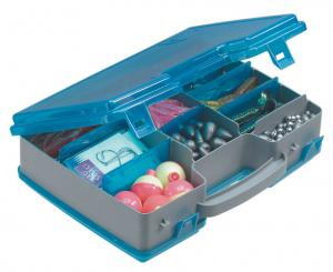 Fishing tackle box with practical small storage space