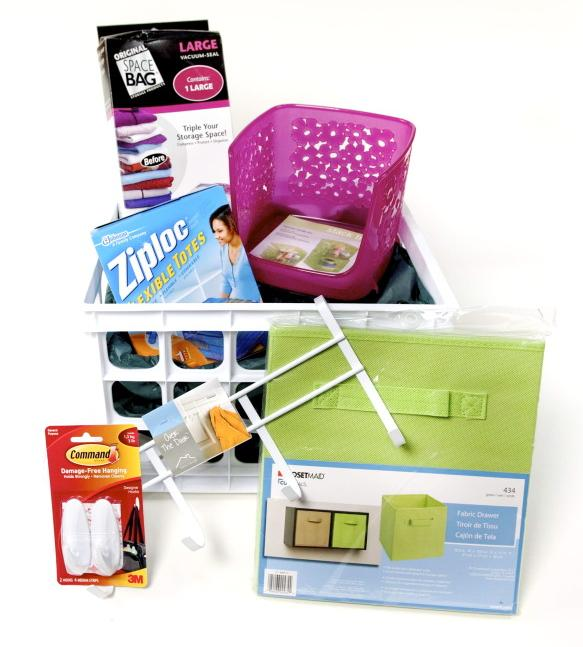 Clothes organizers including closets, clothes bins and more