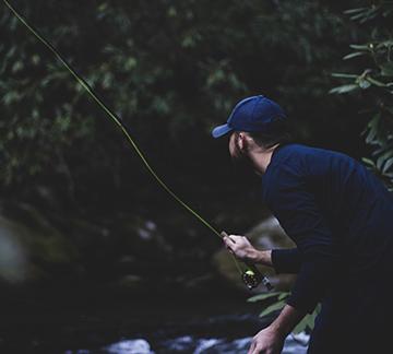 Fly fishing in Woodstock NY