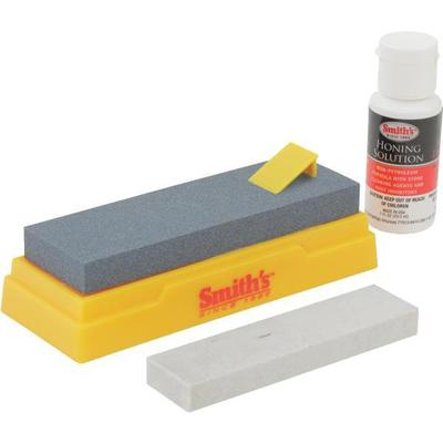 Deluxe sharpening kit, SK2 with 2 synthetic stones and bottle of premium honing oil