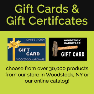 Gift Cards and Gift Certificates for Diane's Kitchen and Woodstock Hardware