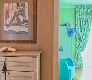 Paint brings old rooms and old walls to life with vibrant and beautiful colors