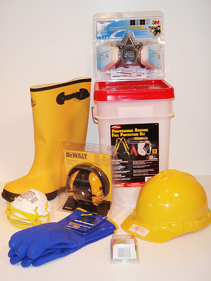 Protective personal gear including hat, boots, gloves and more