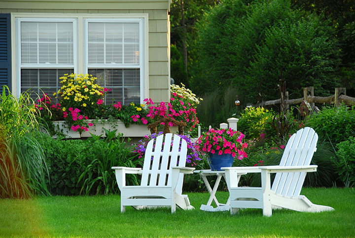 Garden flowers and maintenance for AirBnB services