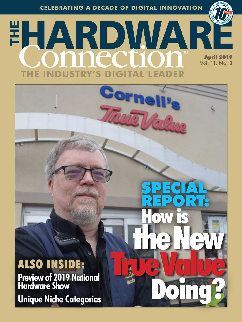 Woodstock Hardware featured in the Hardware connection for being AirBnB specialist
