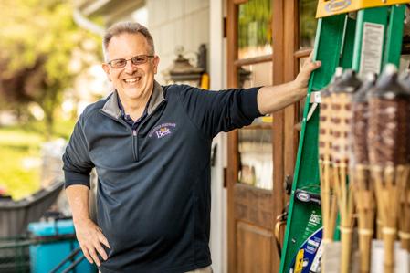Vincent R. Christofora,Jr owner of Woodstock Hardware